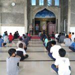 Brimob Aceh Lakukan Sosialisasi Protokol Kesehatan Covid-19 dan Penyemprotan Disinfectant