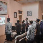 Panwaslih Aceh Selatan Mengikuti Upacara HUT Ke-75 RI secara virtual