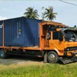 Mencurigakan, Dua Truk Kontainer Diamankan Polres Aceh Selatan