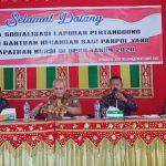 13 Parpol Yang Mendapat Kursi Di DPRK Aceh Selatan Mengikuti Sosialisasi Tatacara Pencairan Bantuan Keuangan Parpol