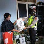 Pandemi Covid-19, Satlantas Polres Aceh Selatan melakukan bakti sosial