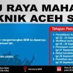 Buruan Daftar!! Telah Dibuka Pendaftaran Calon Ketua BEM Politeknik Aceh Selatan