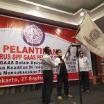 Resmi Dilantik, DPP GAAS Tegaskan Ikut Dukung Pilkada Serentak