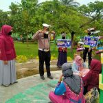 Cegah Covid -19, Satlantas Polres Aceh Selatan dan Poltas Gelar Kegiatan Pembagian Masker