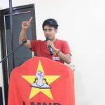 "EK-LMND Aceh Timur mengajak Masyarakat menolak Undang-Undang ""Omnibus Law"" Cipta Kerja"