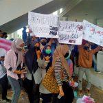 Aliansi Mahasiswa se-Aceh Selatan Gelar Aksi Demo