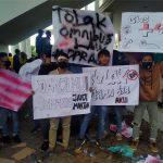 Mahasiswa Aceh Selatan Gelar Aksi Demo Tolak Omnibus Law UU Cipta Kerja