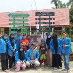 Mahasiswa KPM-DRI edukasi masyarakat dengan penguraian sampah dan selamatkan bumi
