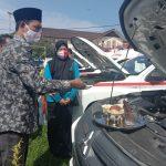 Dengan HKN Ke 56, Tgk Amran Menyerahkan 12 Unit Ambulance Untuk Puskesmas