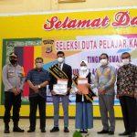 SMAN 1 Tapaktuan Raih Juara Satu Duta Pelajar Kamtibmas