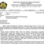 Pemerintah Pusat Tarik Kewenangan Daerah Dalam Mengelola Minerba, Termasuk Aceh