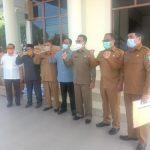 Pemerintah Aceh Salurkan Ribuan Masker Dan Spanduk Untuk Pemkab Aceh Selatan