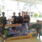 Peduli Banjir, Yayasan Kesejahteraan Masyarakat (Yakesma) Aceh Bagikan Sembako Di Matang kuli