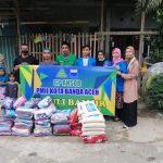 Peduli Umat, PMII dan GP Ansor Aceh Salurkan Bantuan Kepada Korban Banjir Aceh Utara