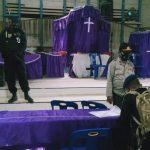 Perayaan Natal dan Tahun Baru 2020, Brimob Batalyon C Pelopor lakukan Sterilisasi di Gereja