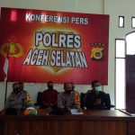 Press Release Akhir Tahun Polres Aceh Selatan : Kapolres Aceh Selatan AKBP Ardanto Nugroho, S.IK, SH, MH Ungkap Keberhasilan