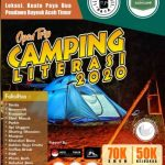 Komunitas Ruang Baca Gelar Camping Literasi 2020