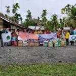 Aliansi Mahasiswa Asel Salurkan Bantuan Kepada Korban Banjir Aceh Utara