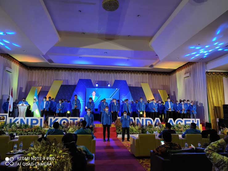 Knpi Kota Banda Aceh Resmi Dilantik Rameune Com