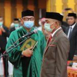 Amiruddin Resmi Dilantik Sebagai Ketua DPRK Kabupaten Aceh Selatan Periode 2019-2024
