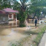 Hujan Lebat di Aceh Selatan, Perkampungan Terendam Banjir