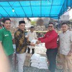 Senator Fachrul Razi dan SPMA Aceh Serahkan Bantuan Kebakarandi Aceh Selatan