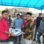 DPW PA Aceh Selatan Serahkan Bantuan Korban Kebakaran Desa Kede Runding, Kluet Selatan