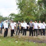 Bupati Aceh Selatan Tgk Amran Pantau Kesiapan MTQ Ke XXXV