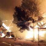 Breaking News Lima Unit Ruko Di Kluet Selatan Hangus Terbakar