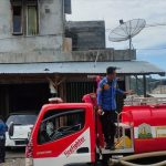 Korsleting Listrik, Rumah Samsari Nyaris Terbakar