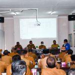 Sekda Mahyuddin Buka Rakor Musrenbang Camat Se-Aceh Timur
