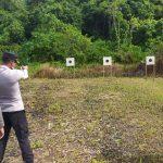 Kegiatan Gabungan Menembak, Brimob Batalyon C Pelopor Bersama Polres Aceh Selatan