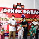 Donor Darah HUT HPN Bupati Aceh Timu: Wartawan Ujung Tombak Tangkal Hoax