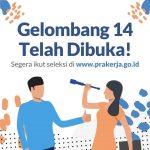 Pendaftaran Kartu Prakerja Gelombang 14 Dibuka Untuk 600.000 Orang Peserta!