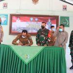 Bupati Aceh Selatan Secara Resmi Membuka TMMD ke 110 Kodim 0107/Aceh Selatan Tahun 2021