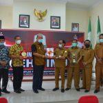 Sekda Aceh Timur Sambut Kunker Wakil Bupati Langkat