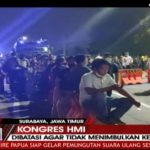 Mengaku Ditelantarkan, Romli Kongres HMI di Surabaya Demo Malam-malam
