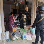 Demi Tercipta Situasi Aman, SAT Brimob Polda Aceh Melakukan Patroli Kemandahan Di Aceh Selatan