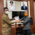 Kalak BPBA Terima Kunjungan Pusdatin BNPB guna Monitoring dan Evaluasi Data Kebencanaan di Aceh