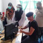 Personil Staf Batalyon C Pelopor Brimob Aceh dan Personil Kompi 1, Jalani Vaksinasi Tahap Pertama