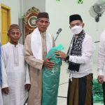 Bupati Bangka Safari Ramadhan Di Masjid Farhan Kamal Desa Air Anyir