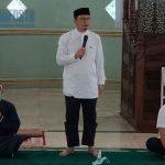 Bupati Bangka Tengah Safari Ramadhan Di Masjid Jami Koba