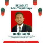 Razjis Fadli Terpilih Geuchik Teupin Keube, Digadang-gadang menjadi Geuchik Termuda Se – Aceh Utara