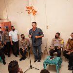 Hadiri Undangan Silaturahmi, Kabaintelkam dan Kapolda Sulsel, Kunjungi Asrama Papua Kab. Biak
