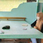 Datang ke Koramil, Dua Remaja Putri Kota Fajar Dapat Motivasi dan Arahan Dari Babinsa