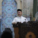 Gubernur Babel Shalat Teraweh Di Masjid Muhajirin Pangkalpinang