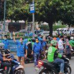 DPP KNPI Jakarta Bagikan Takjil Untuk Berbuka Puasa