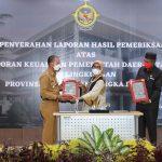 Kabupaten Bangka Kembali Raih Lenghargaan WTP Kelima Kalinya