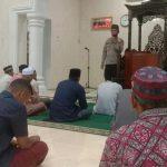 Safari Ramadan Di Kedai Kandang, Ini Pesan Kapolsek Kluet Selatan