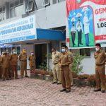 Pemkab Aceh Selatan Gelar Apel Pagi Pasca Cuti Idul Fitri 1442 H/2021 M